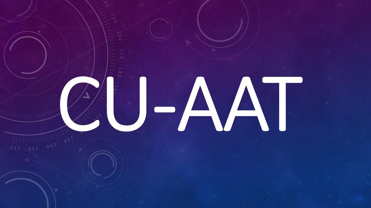 CU-AAT